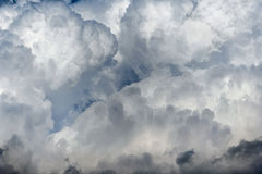 Sky full of clouds Royalty Free Stock Images