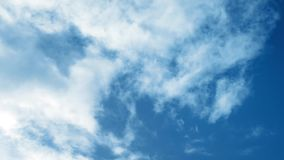 Sky Full Of Clouds stock footage