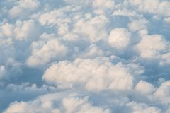 Lumpy Clouds royalty free stock photography