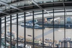 Sky Garden in London City Royalty Free Stock Photo