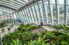 Sky Garden, London stock image