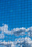 Sky in glass of office building Stock Photography