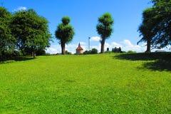 Sky, Grassland, Nature, Green Stock Photos
