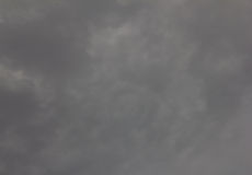 Sky on grey cloud of background Royalty Free Stock Image