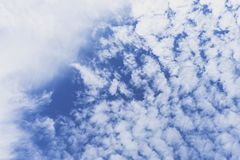 Sky with group of clouds Royalty Free Stock Images