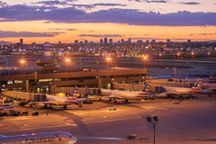 Sky Harbor Airport, Phoenix,AZ. USA May,8th,2016 March 2016 was the busiest month ever for Phoenix Sky Harbor International Airport royalty free stock images