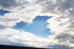 Heart Shaped Cloud Stock Photos
