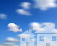 Sky High Housing Stock Images