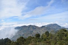 Sky, Highland, Mountainous Landforms, Mountain
