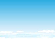 Sky_horisontal Fotografia de Stock