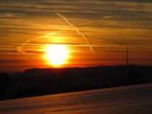 Sky, Horizon, Afterglow, Sunrise stock images