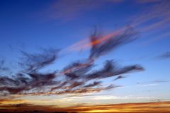Sky, Horizon, Atmosphere, Afterglow Royalty Free Stock Image