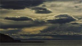 Sky, Horizon, Cloud, Sea royalty free stock photography