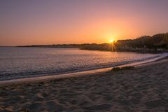 Sky, Horizon, Shore, Sunrise royalty free stock photography