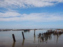 Sky, Horizon, Shore, Waterway stock photography