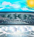 Sky illustration stock photos