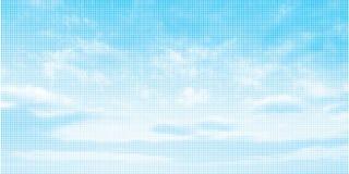 Sky illustration background Royalty Free Stock Photography