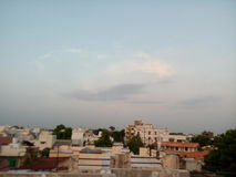 Sky of indore. Sky has no limit Stock Photography