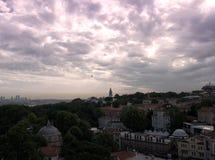 Sky istanbul stock photo