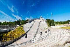 Sky jump Holmenkollen Stock Photography