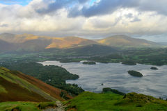 Stormy sky in Lake District Royalty Free Stock Photo