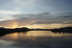 Sky Lake Royalty Free Stock Image
