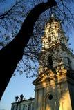 Sky, Landmark, Spire, Tree royalty free stock images