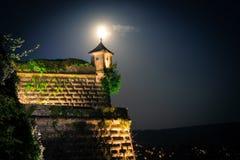 Sky, Landmark, Town, Night stock image
