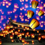Sky lantern Royalty Free Stock Images