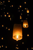Sky lantern Stock Photography