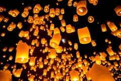 Sky Lantern Royalty Free Stock Image