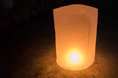 Sky lanterns firework festival, Loy Krathong and Yi Peng Festiva Royalty Free Stock Images