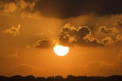 Sky life sunset Stock Image