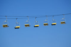 Sky Lift Amusement Park Ride Royalty Free Stock Photo
