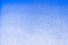 Sky light blue color water drops abstract background Royalty Free Stock Photos