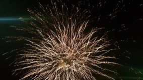 Sky light at night. Sky light night colours bang fireworks royalty free stock photography