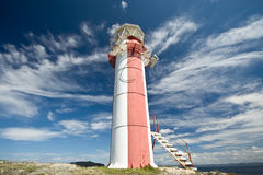 Sky with Lighthouse Royalty Free Stock Image