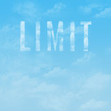 The sky is the limit Stock Image