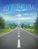 Sky is the limit Royalty Free Stock Photos