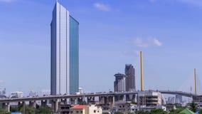 Sky line city time-lapse stock video footage