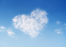 Sky of love Stock Photo