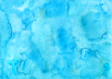 Sky иlue watercolor. Handpainted sky blue watercolor backgrounds Royalty Free Stock Photo