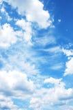 Sky med moln Royaltyfri Foto