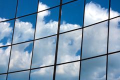 Sky in mirror Royalty Free Stock Images