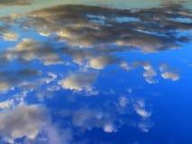 sky molnig sky Royaltyfri Bild