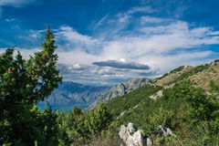 Sky. Montenegro Kotor Adriatic Europe Sky Boka Royalty Free Stock Photos