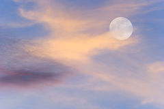 Sky Moon Stock Images