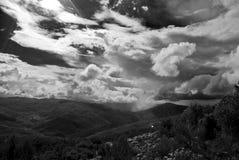 Sky and mountain Royalty Free Stock Photos