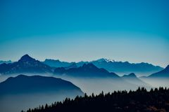 Sky, Mountain Range, Mountainous Landforms, Mountain Royalty Free Stock Photos