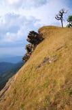 Sky and Mountain. Mountain view in Thailand in the Chiangmai. The Mon-Jong  mountain Stock Photos